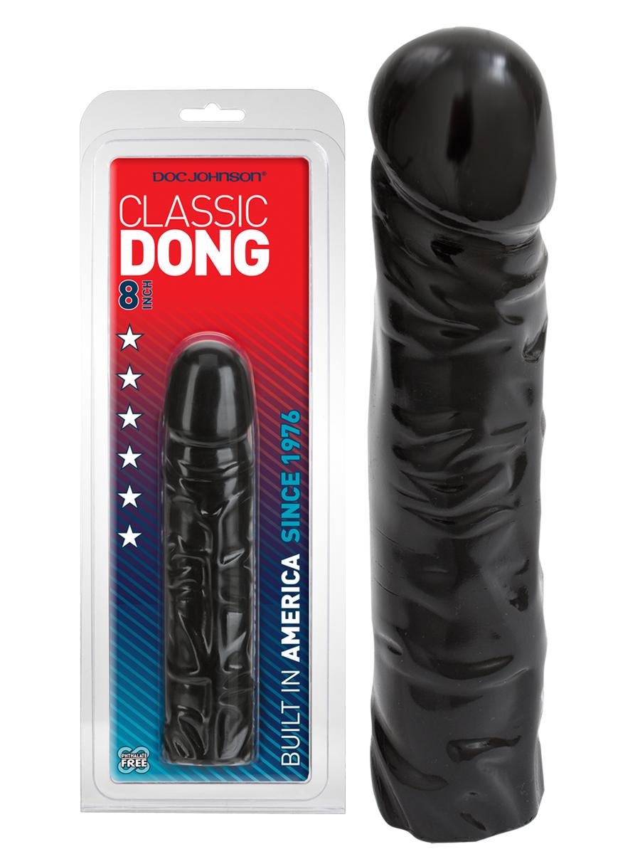 Classic Dong 8 inch - schwarz
