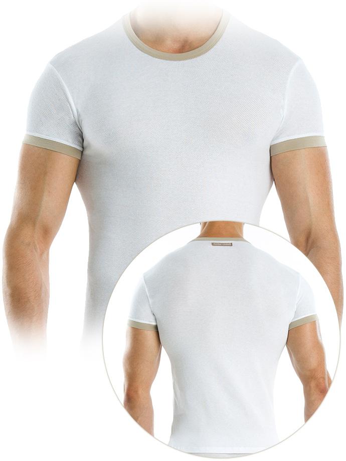 Modus Vivendi - Perforated T-Shirt - Weiß