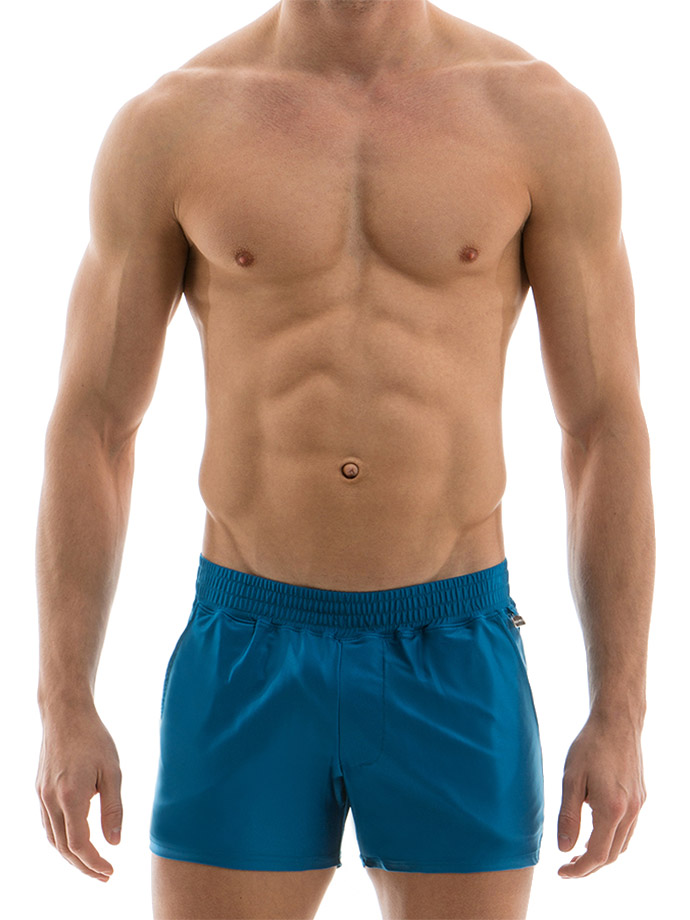 Modus Vivendi - Elegant Shorts - Cobalt Blau