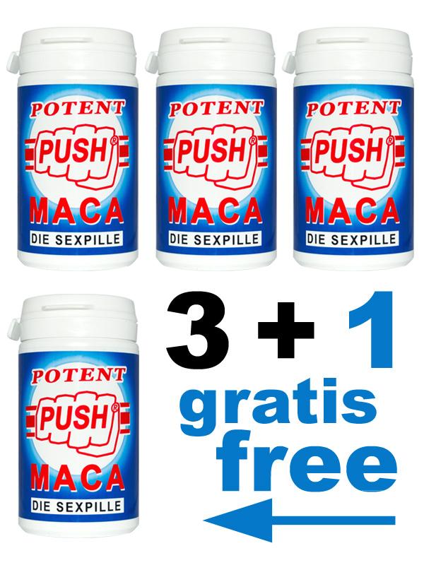3 + 1 Push Potenzpillen