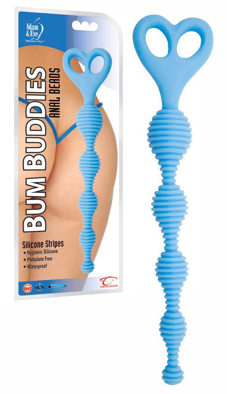 Bum Buddies Anal Beads Blau