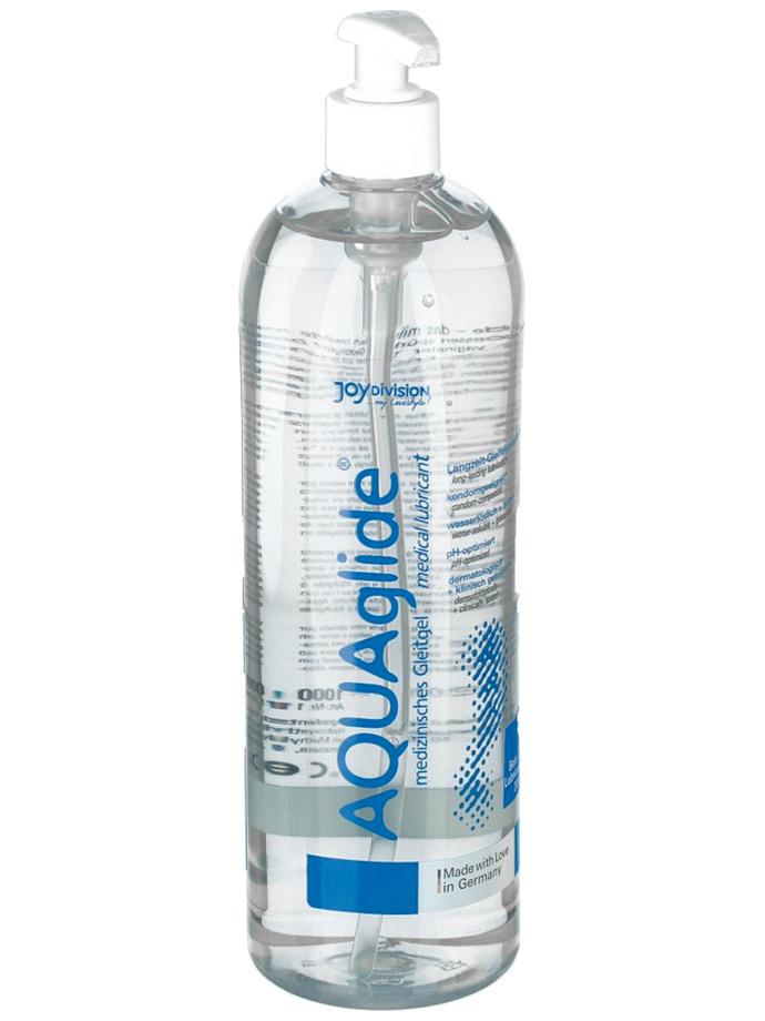 AQUAglide Neutral - Medizinisches Gleitgel 1000 ml