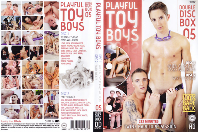 Playful Toy Boys 5 - 2 DVDs