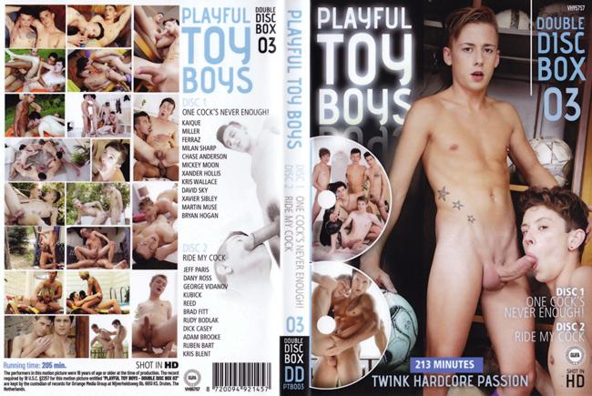Playful Toy Boys 3 - 2 DVDs