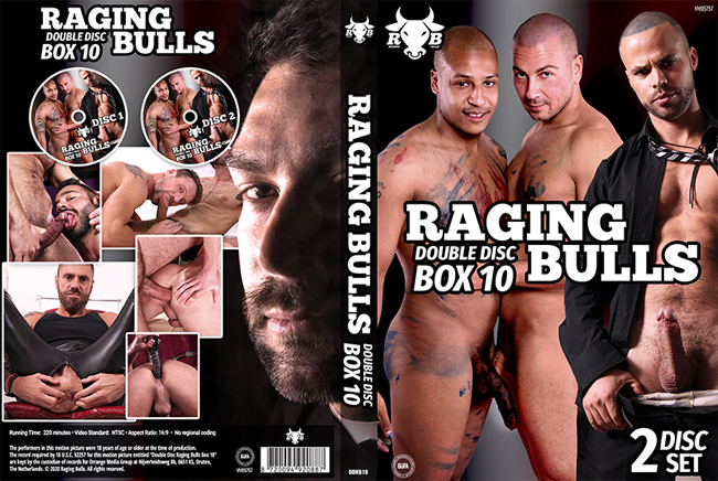 Raging Bulls 10 - 2 DVDs