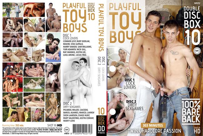 Playful Toy Boys 10 - 2 DVDs