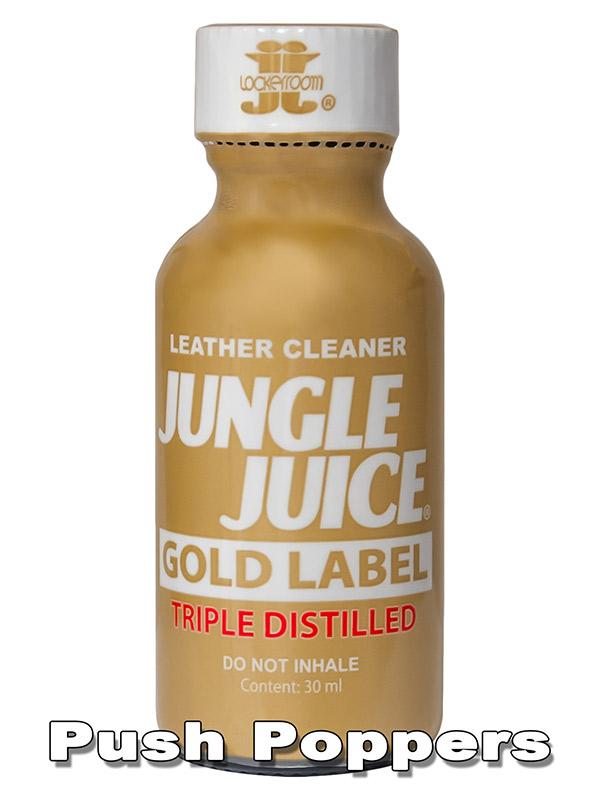 JUNGLE JUICE GOLD LABEL TRIPLE DISTILLED