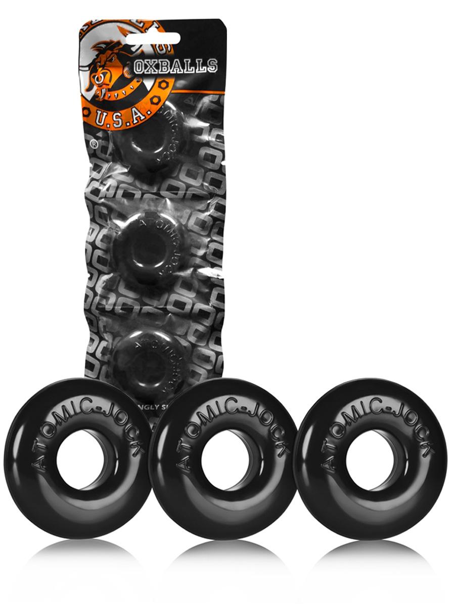 Cock Ring Ringer 3-Pack Schwarz