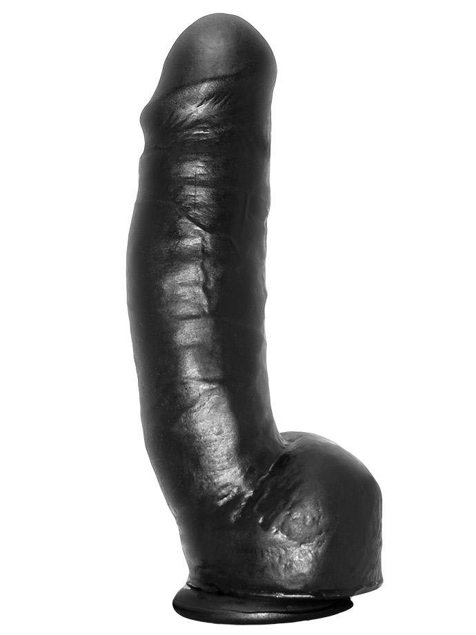 Black Pornostar Dildo Tom