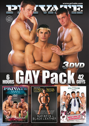 Private Gay Pack - 3 DVDs