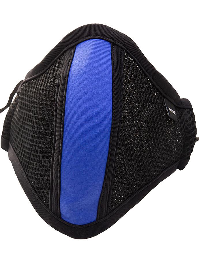Barcode Berlin - Schutzmaske mit Filter - Schwarz/Blau