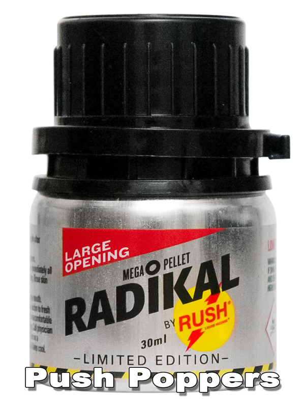 RADIKAL RUSH big alu bottle