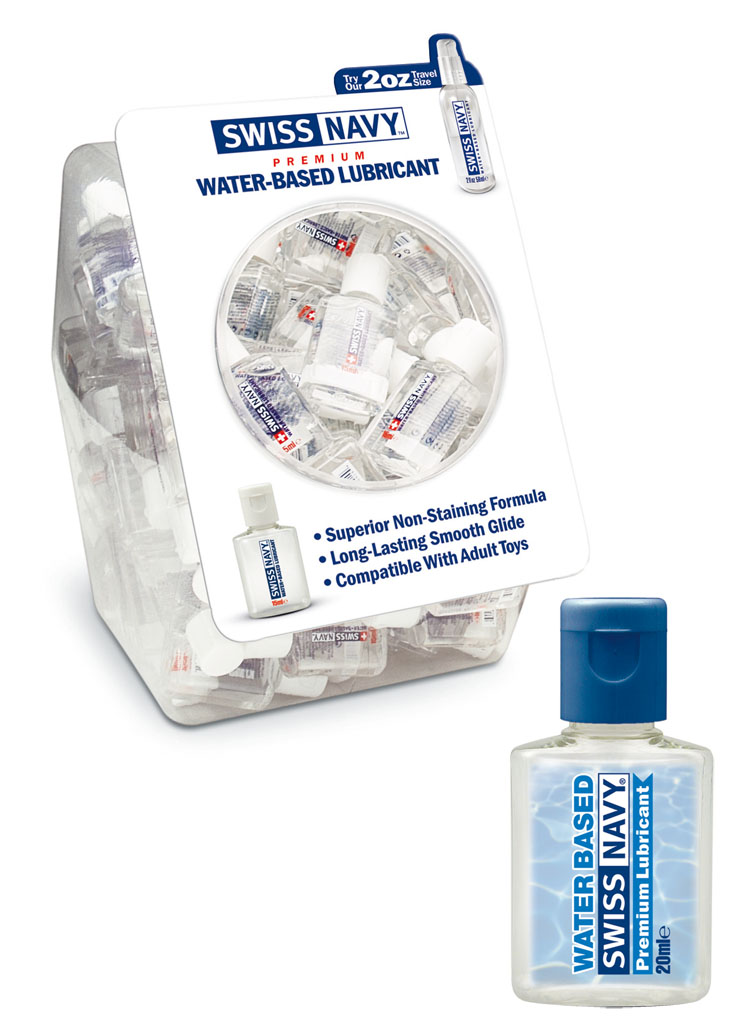 Swiss Navy (Wasserbasis) Verkaufsbox 36 x 20 ml