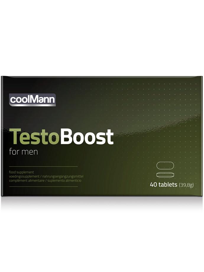 TestoBoost for men - 40 Tabletten