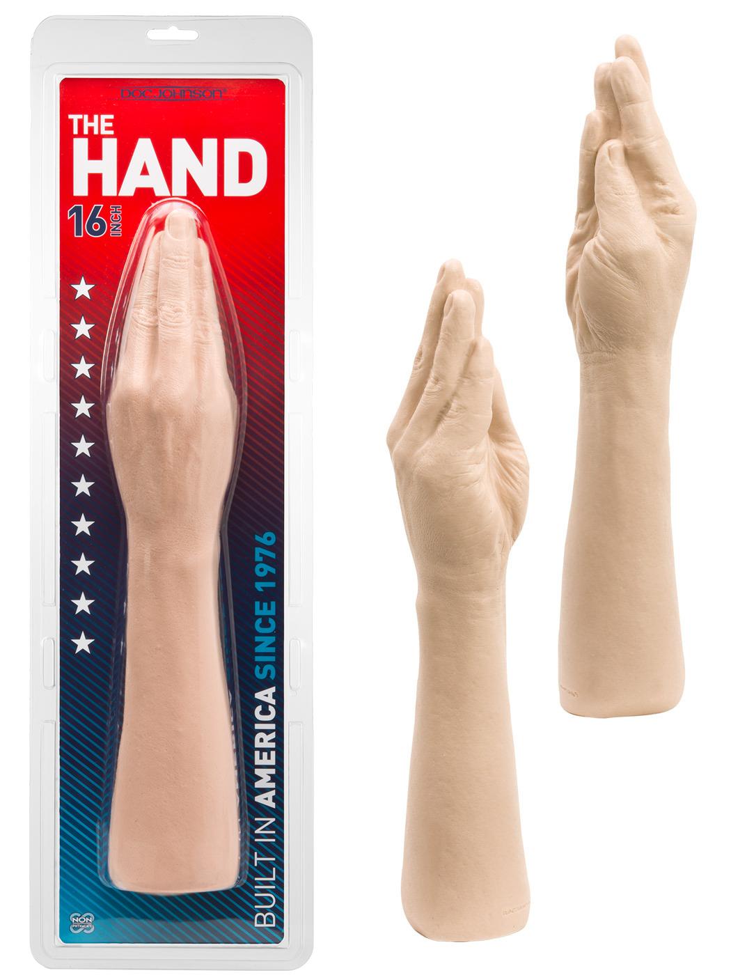 Hand - weiss