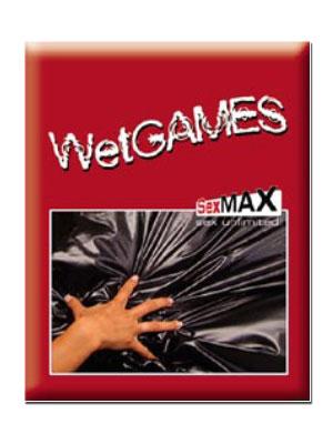 Wet Games Sex-Laken - schwarz 180x220 cm